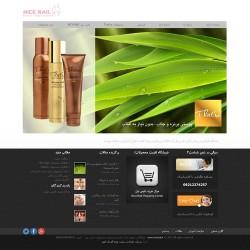 طراحی سایت خدمات زیبایی و آرایشی